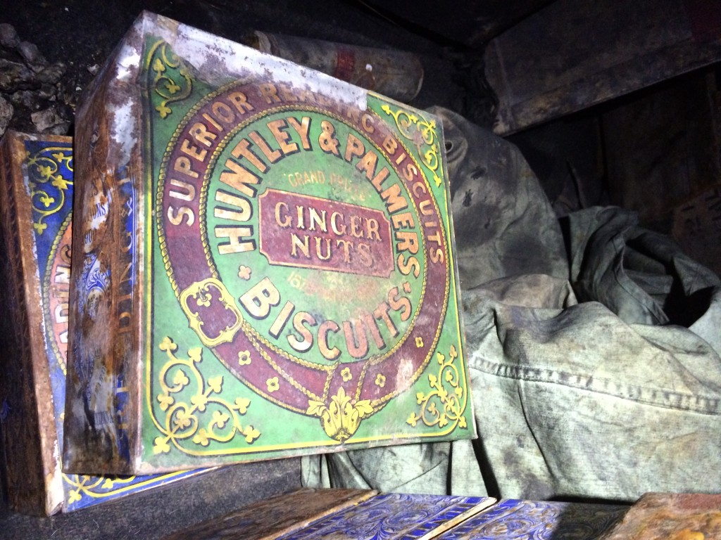 Here's a tin of Ginger Nuts, which are still popular in New Zealand.
