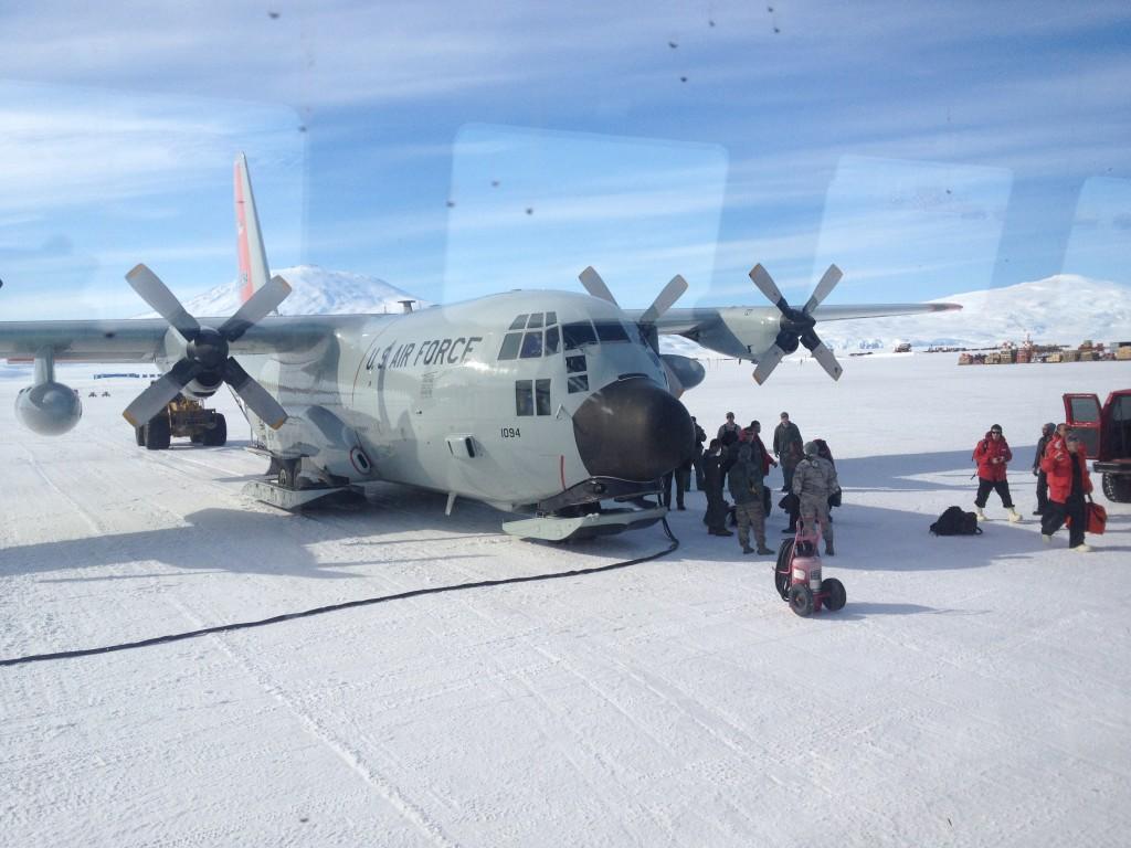 The C-130.