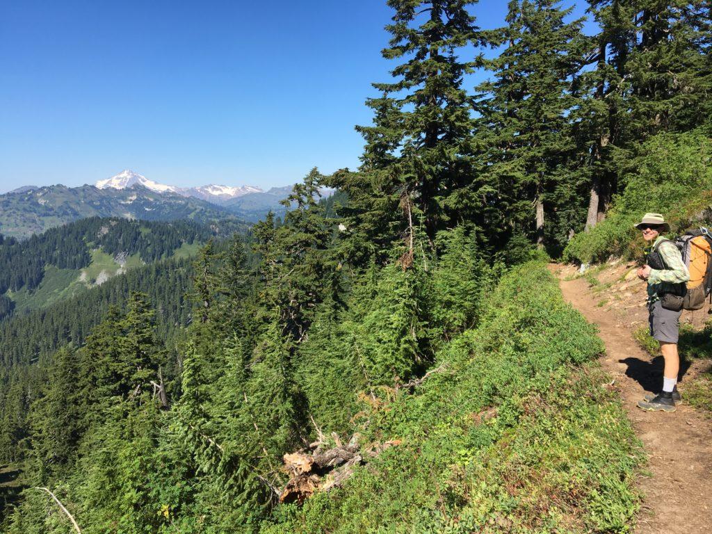 Richard and Glacier Peak.